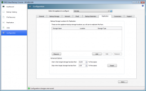 Replication tab, i will cover this feature in a next blog