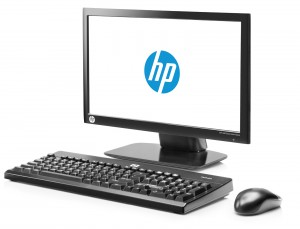 HP t410 All-in-One Smart Zero Client setup view