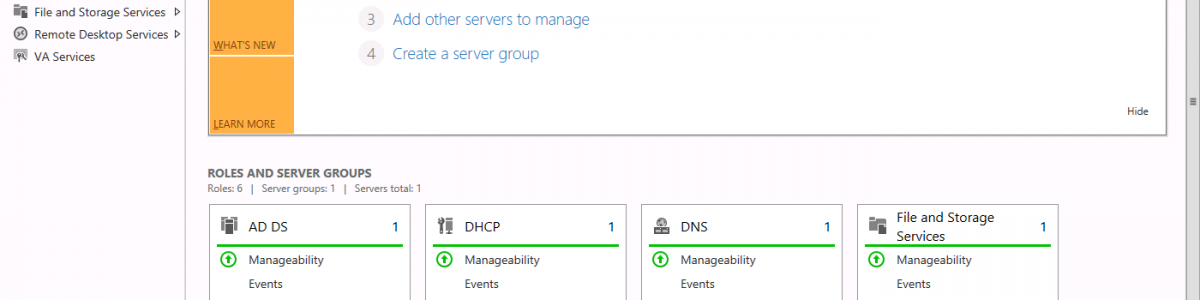 Windows Server 2012 – Migrating FSMO Roles